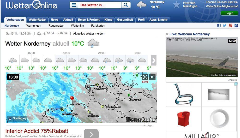Wetter Onlin