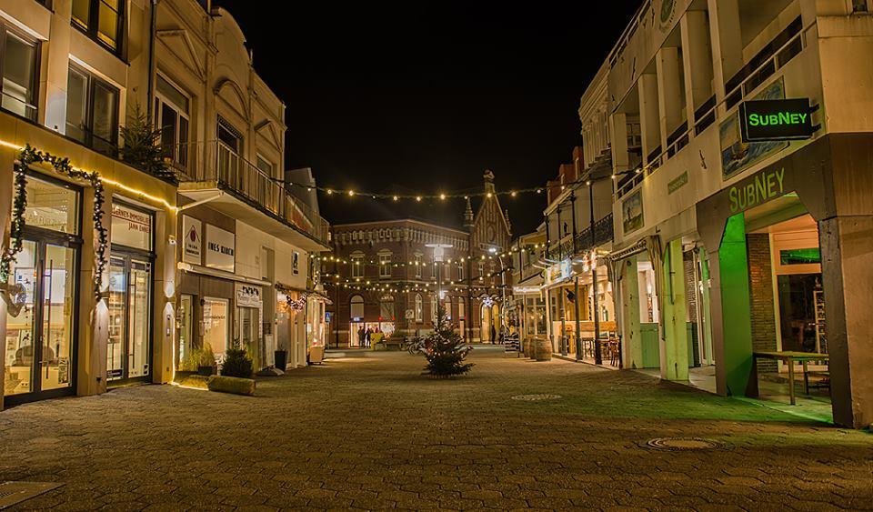 Poststrasse Ende Weihnachten