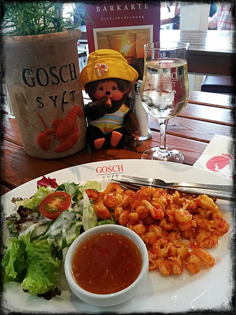 Gosch Norderney Fischgericht Tisch