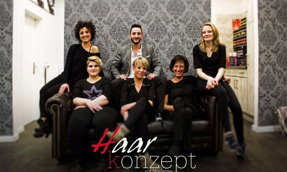 Haarkonzept Norderney Team