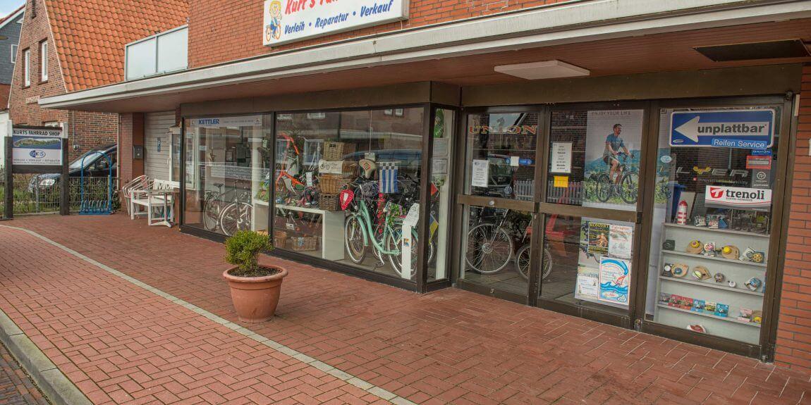 Kurts Fahrradshop Norderney Nordhelmsiedlung
