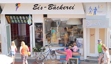 Eis-Bäckerei