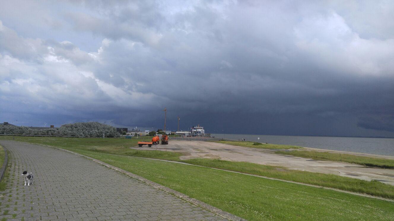 regen im Süden