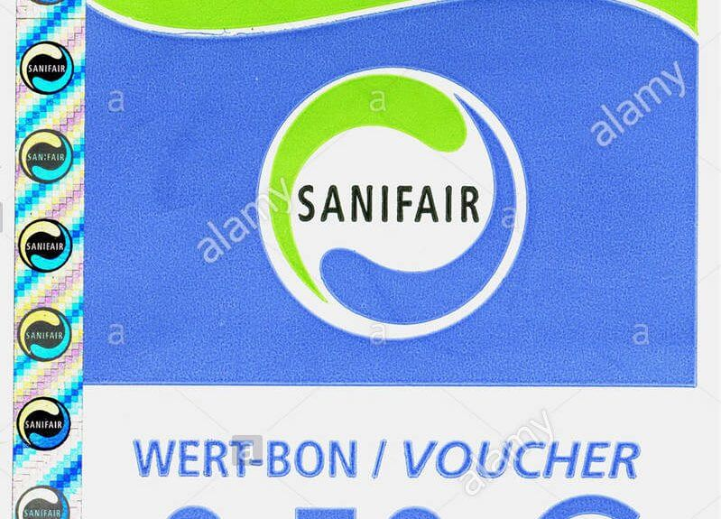 sanifair bon