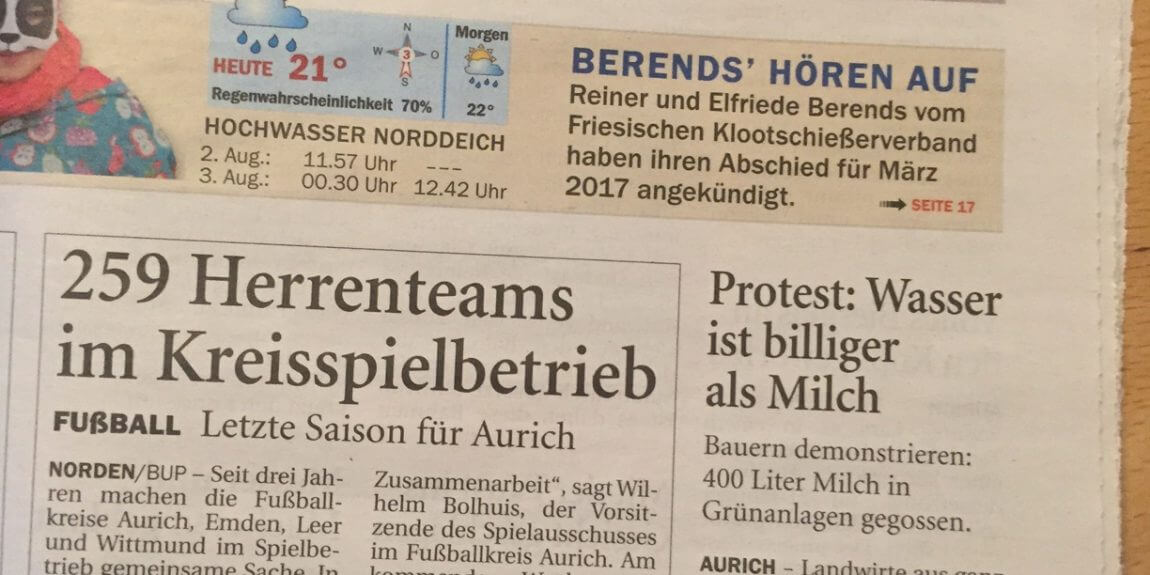 milchprotest