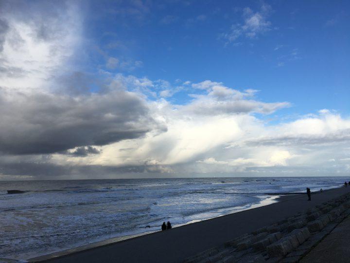 Sonne und Wolken am Nordstrand Norderney