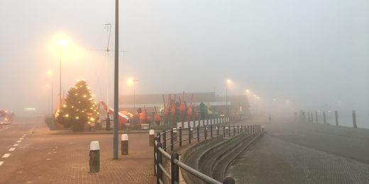 Hafen Norderney im Nebel