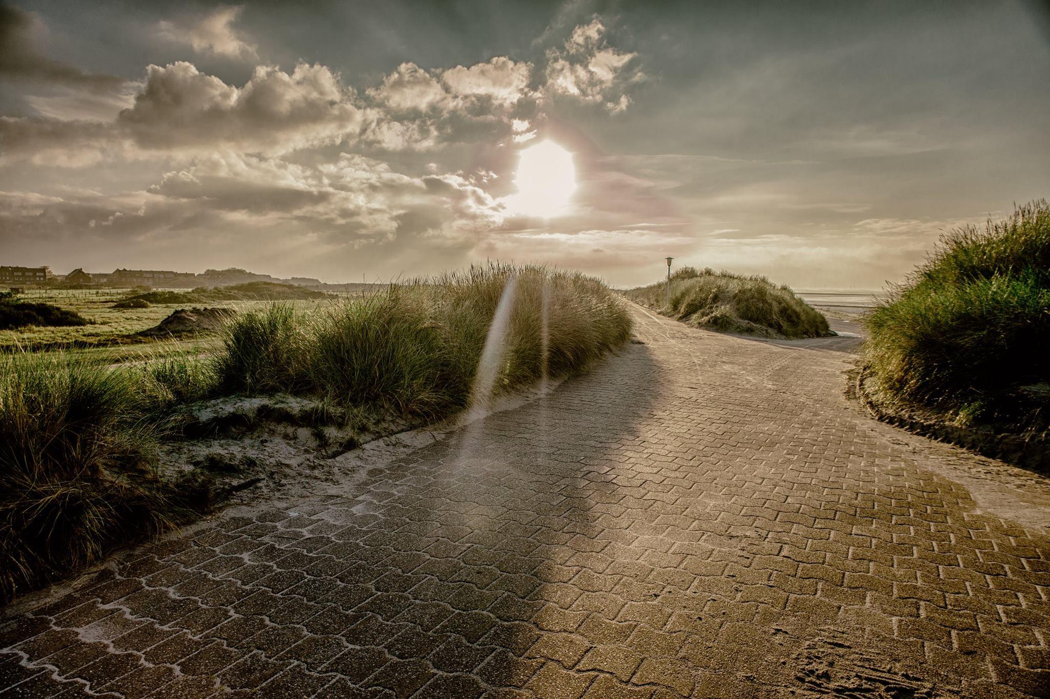 Norderney Winter Sonne