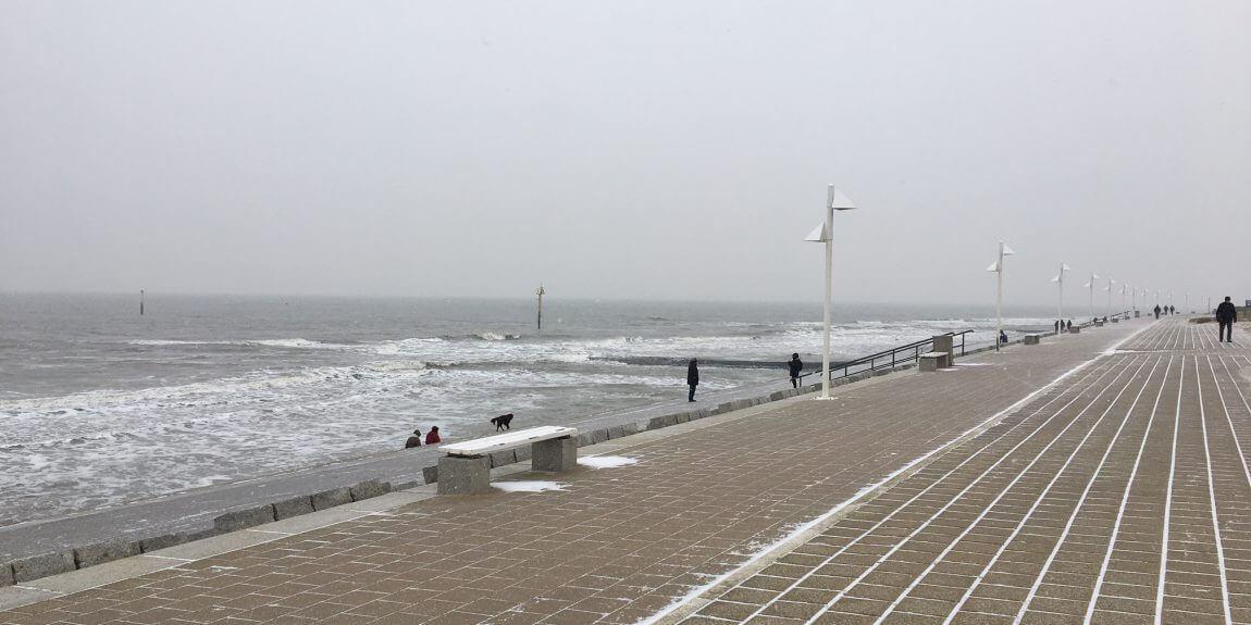 Winterwetter auf Norderney