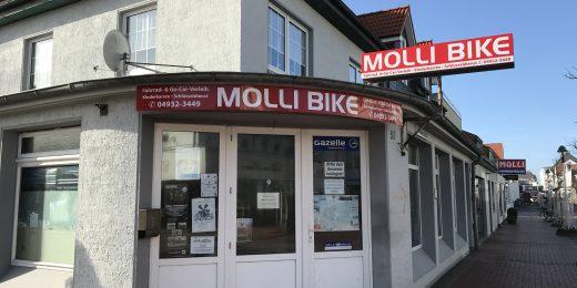 Fahrradverleih Molli