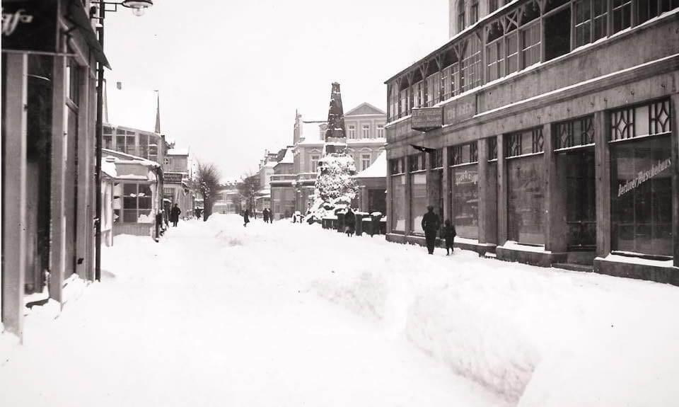 Schnee friedrichstrase 30er