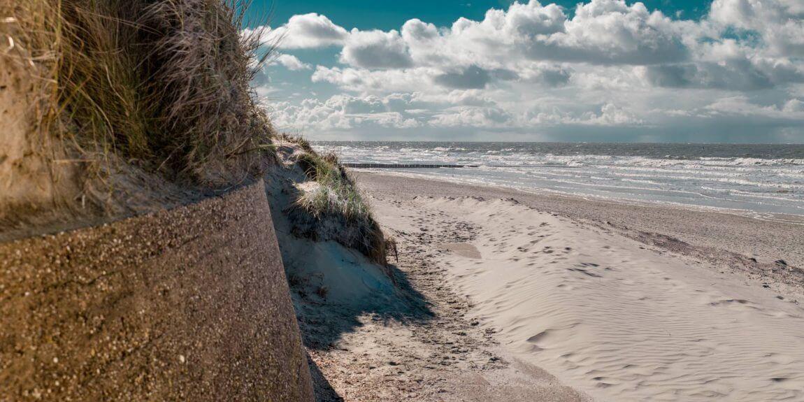 duenen strand promenade