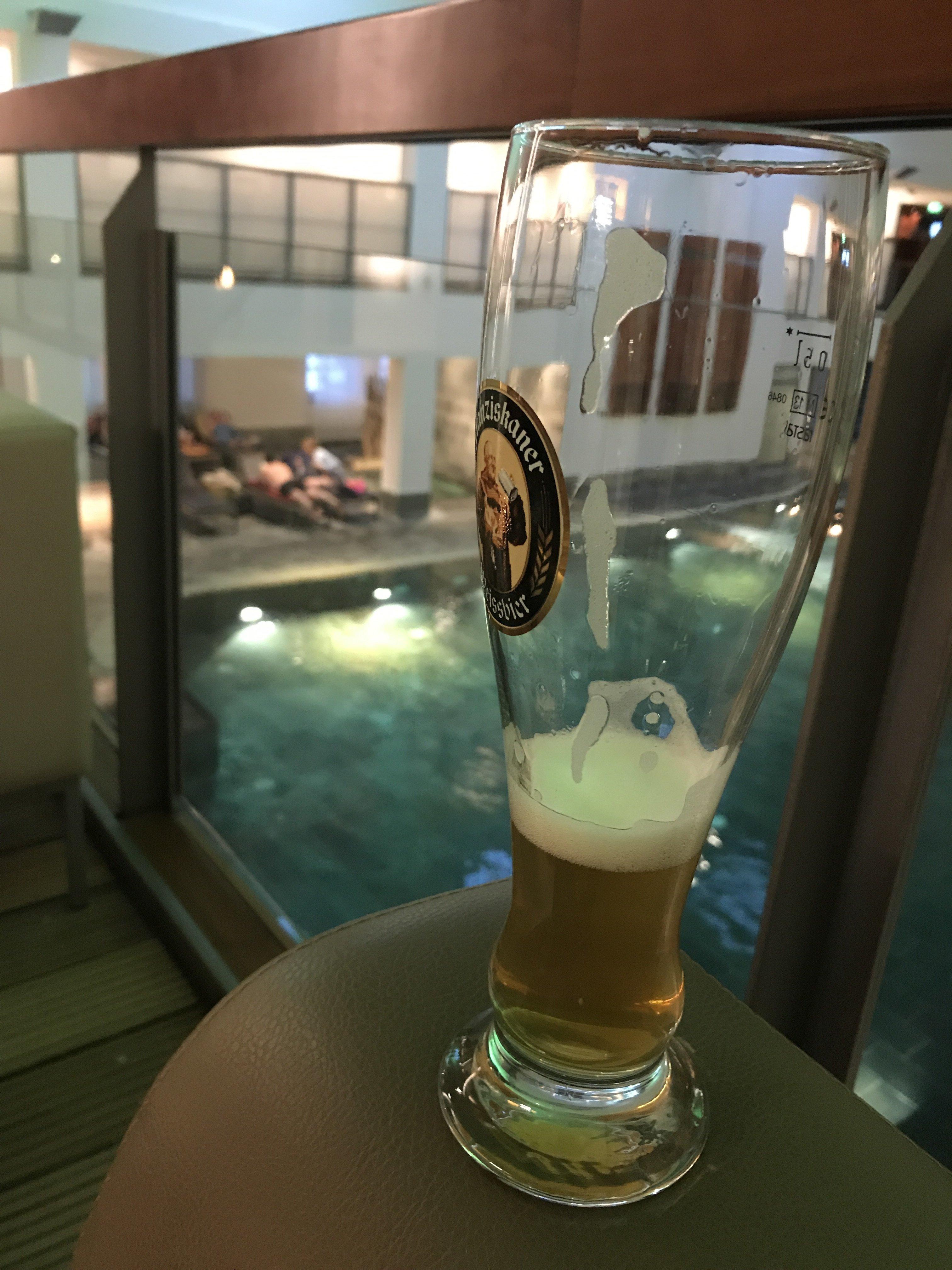 badehaus Ein Bier im badehaus