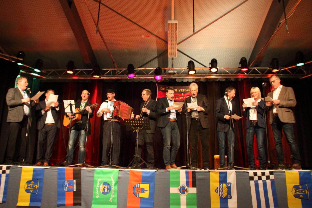 Insulaner unter sich Chor der Bürgermeister