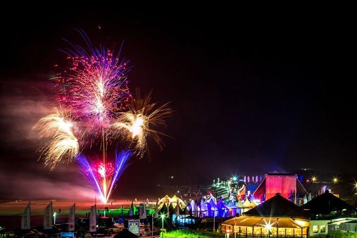 Norderney Feuerwerk beachparty summertimes