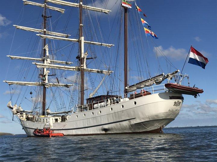Segelschiff Artemis 4