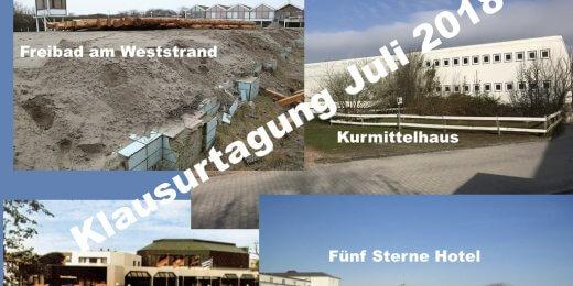 Klausurtagung Festland 2018