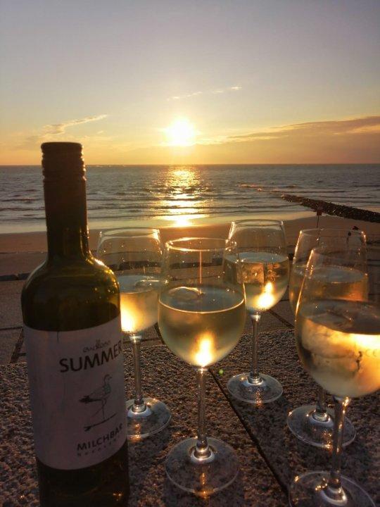 Glücklich auf Norderney - Wein