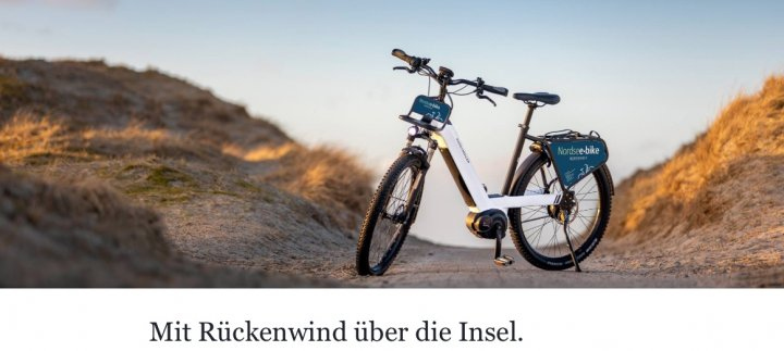 nordseebike Rückenwind
