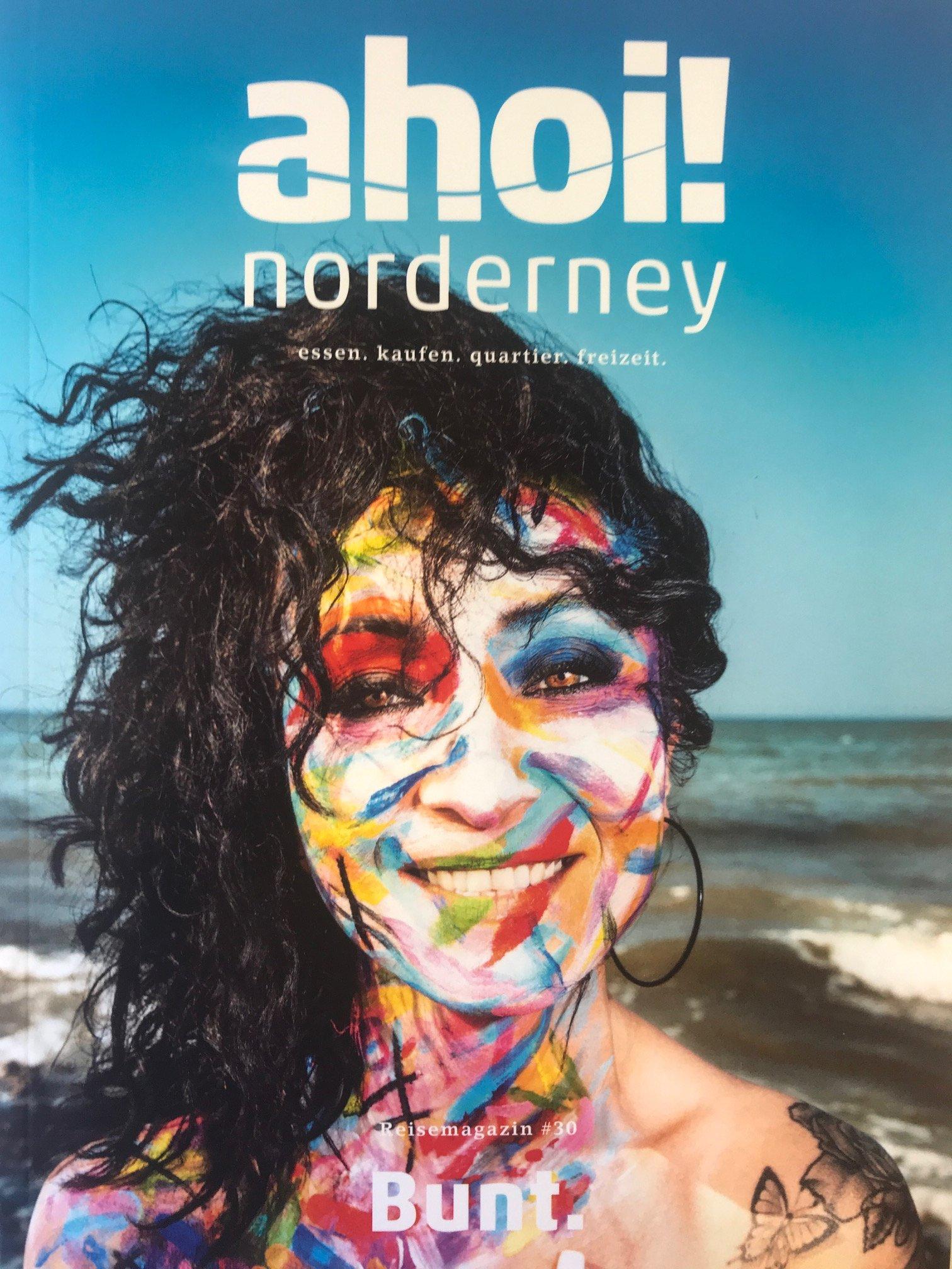 Ahoi Titelbild - 30 Ausgabe des Norderneymagazins Ahoi