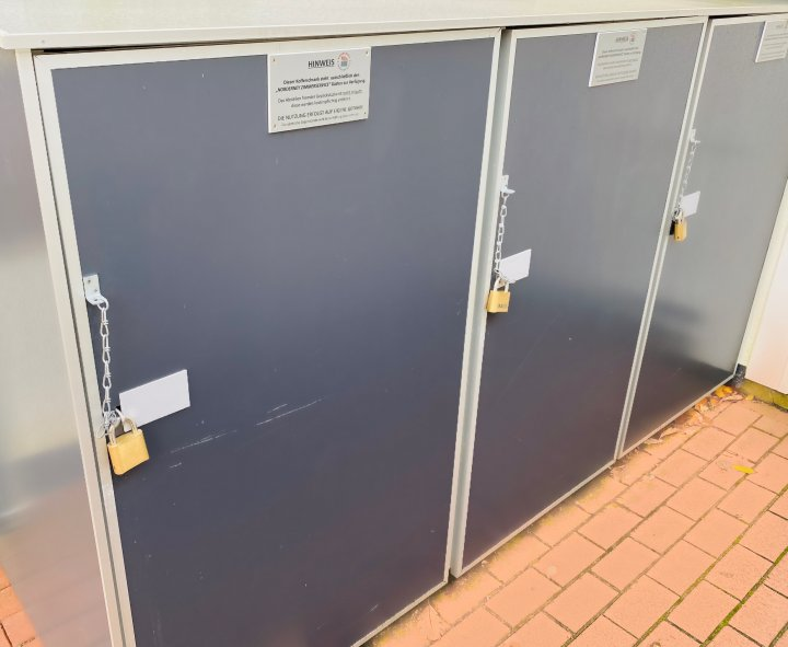 Kofferschränke des Norderney Zimmerservice