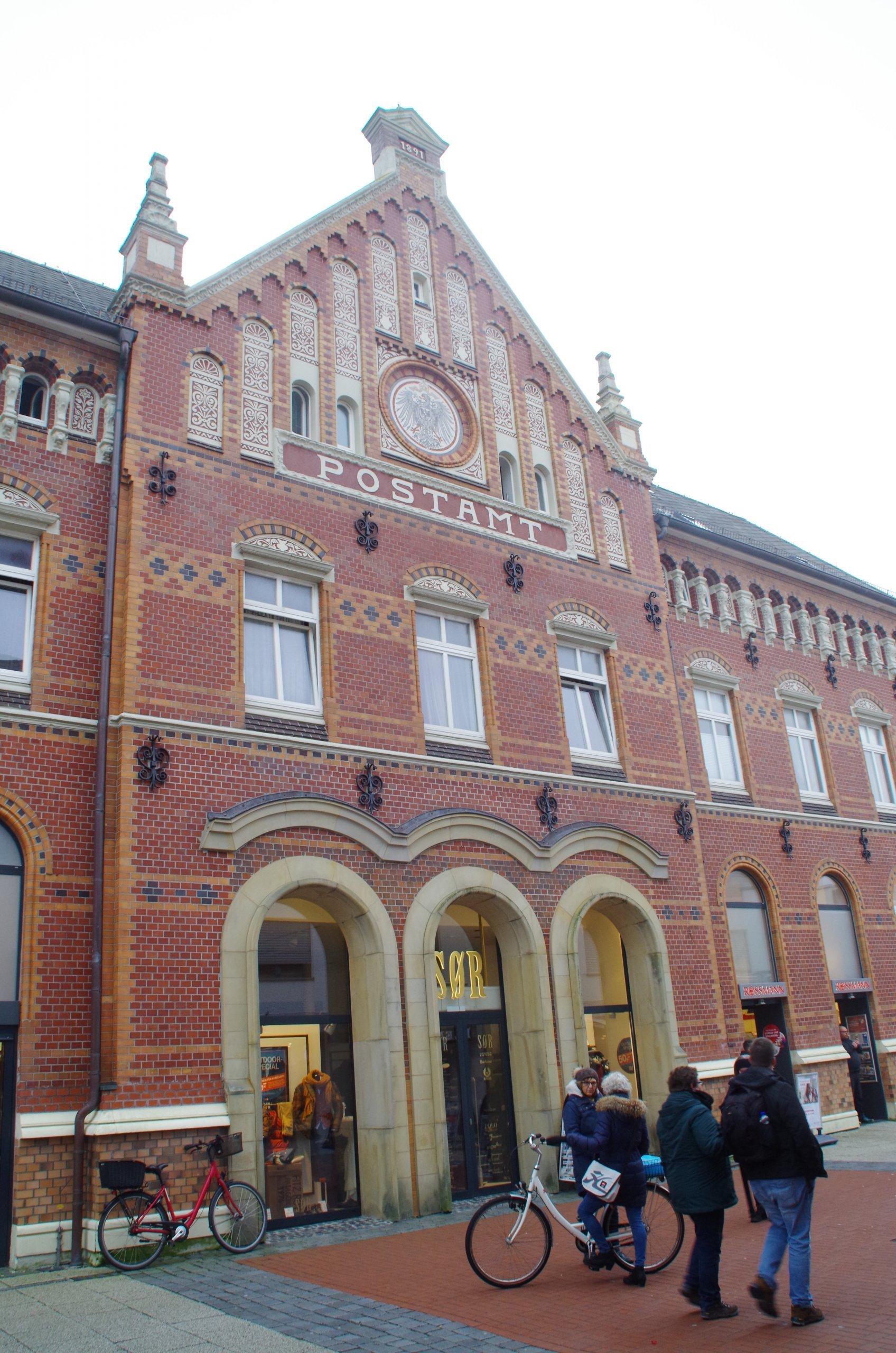Historisches Postgebäude Norderney