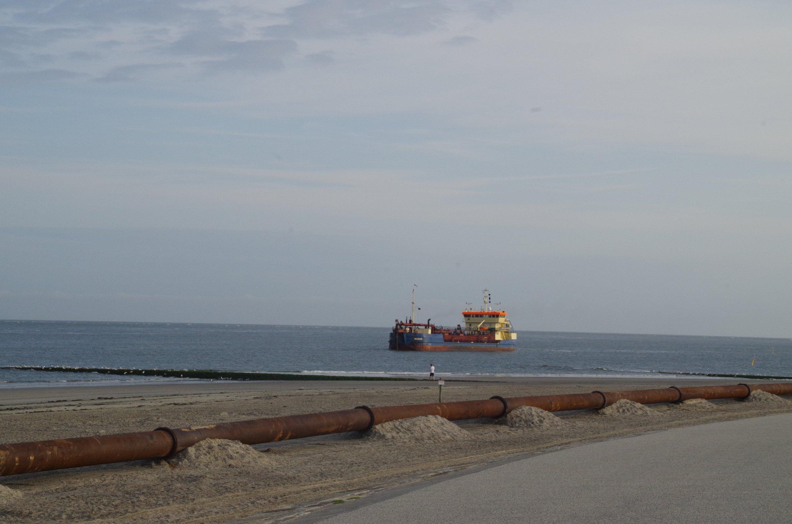 Küstenschutz Strandaufspülung