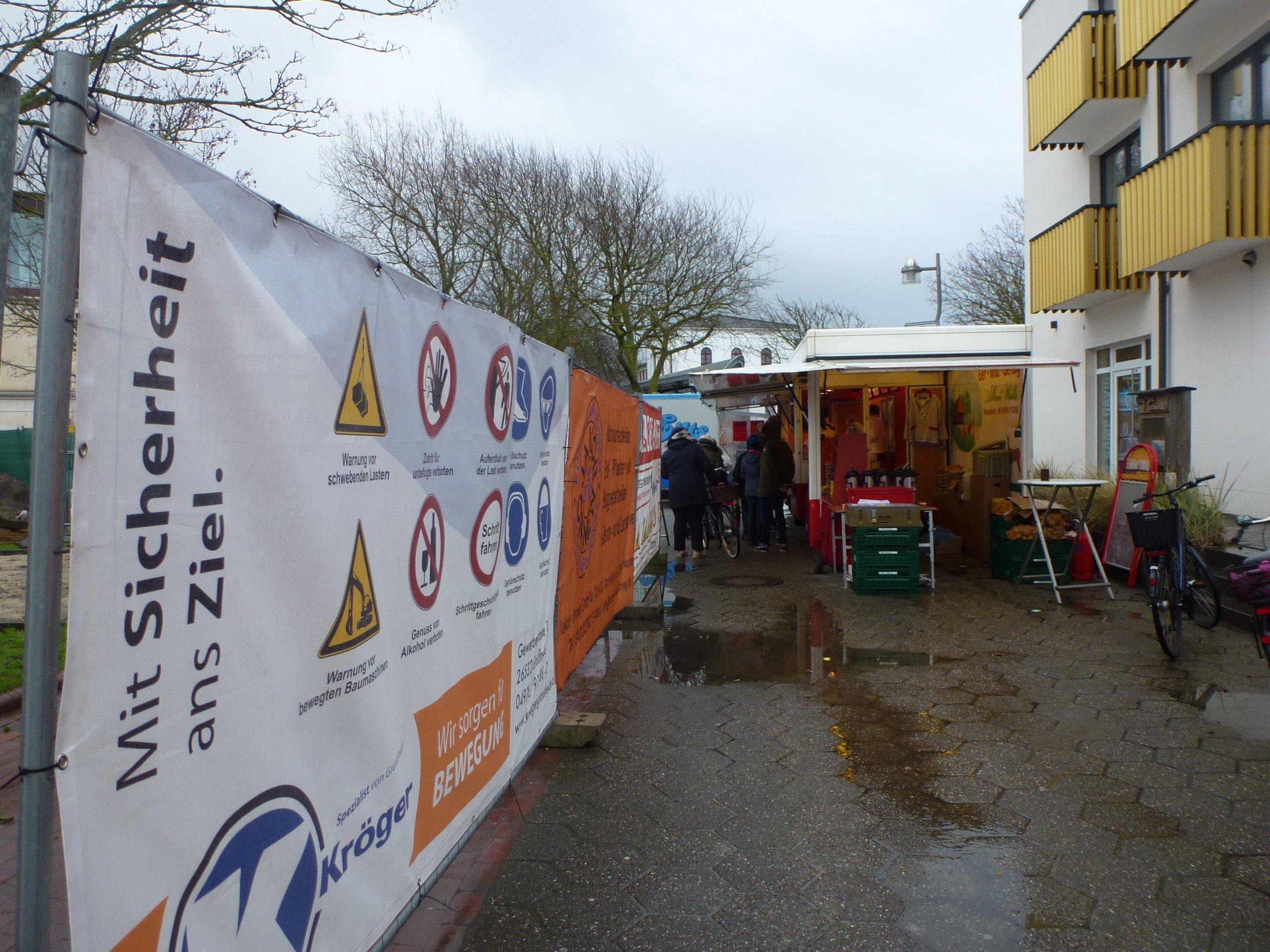Wochenmarkt Norderney alter Standort