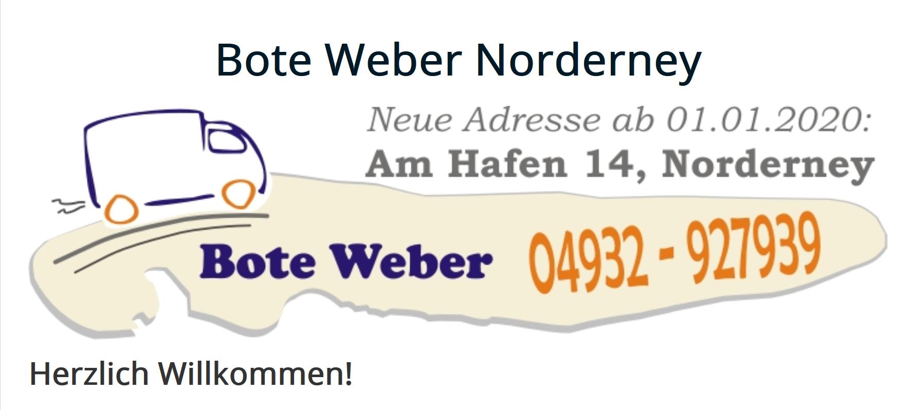 Botendienst Weber Logo