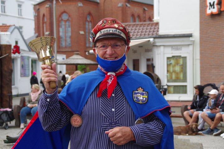 Ausrufer Bernd Krüger