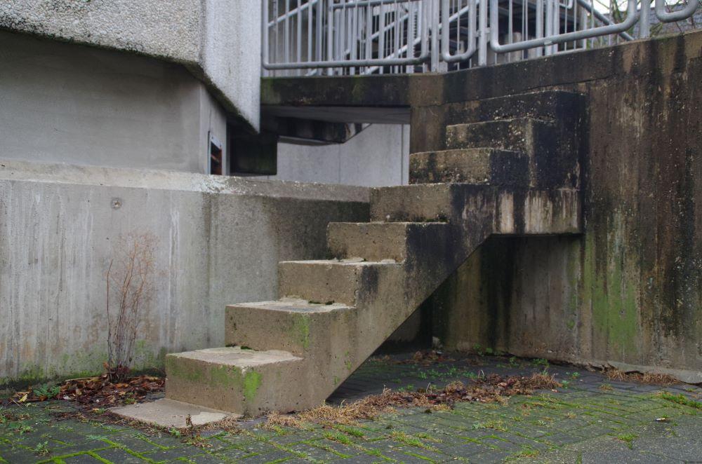 Treppe ins Nichts - Haus der Insel