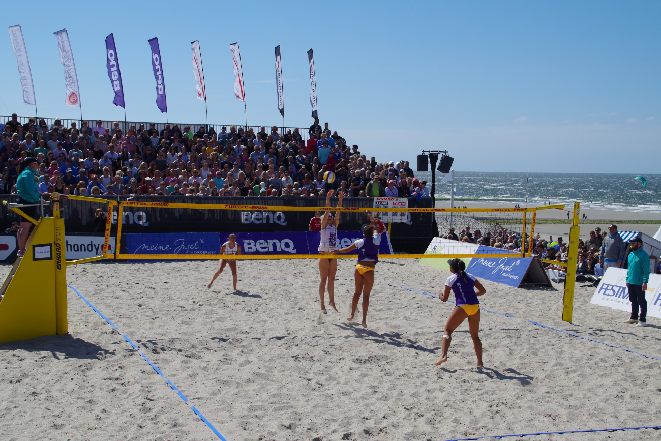 White Sands Festival 2017 Beachvolleball Frauen