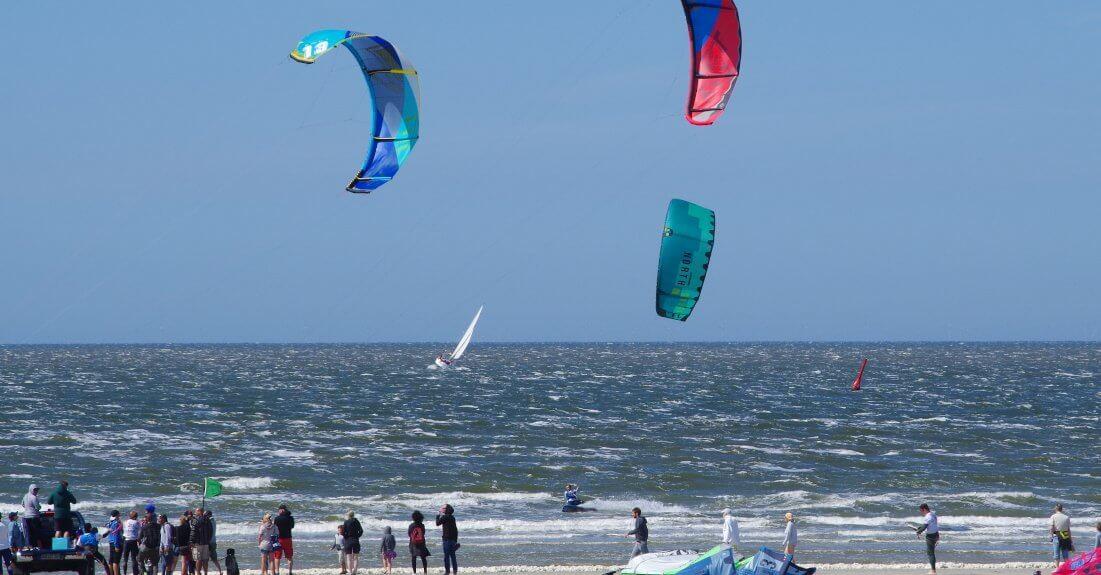 White Sands Festival 2017 Kitesurfer