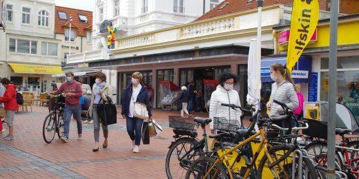 Maskenpflicht in den Straßen