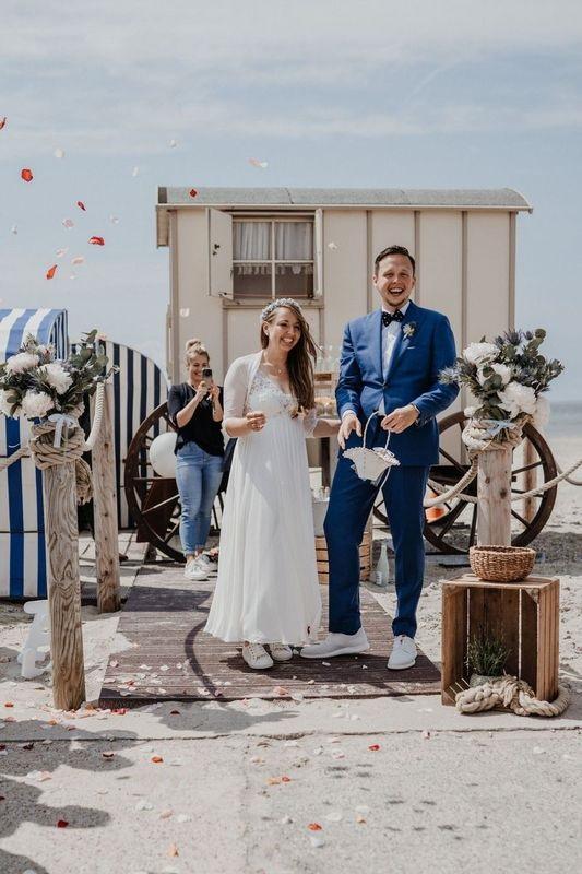 Hochzeit am Badekarren
