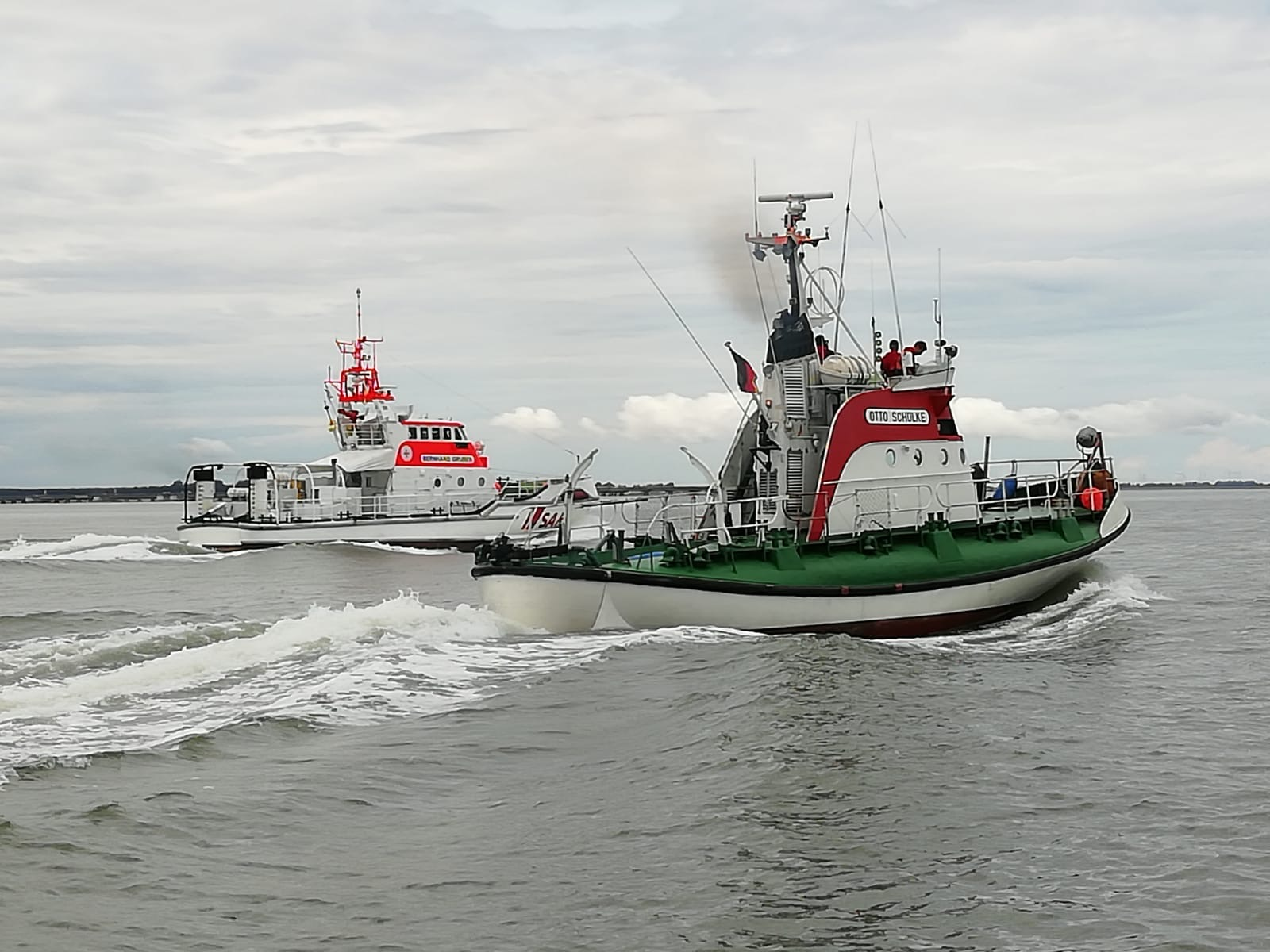 Probefahrt von Bremerhaven nach Hooksiel