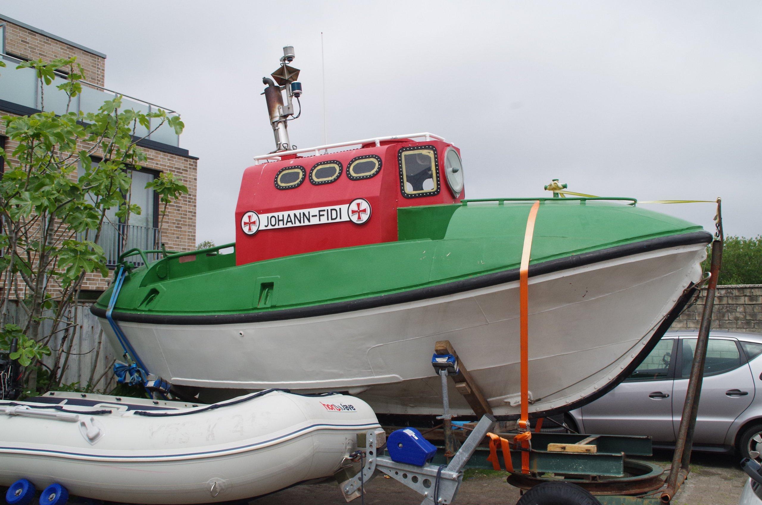 Tochterboot Johann Fidi