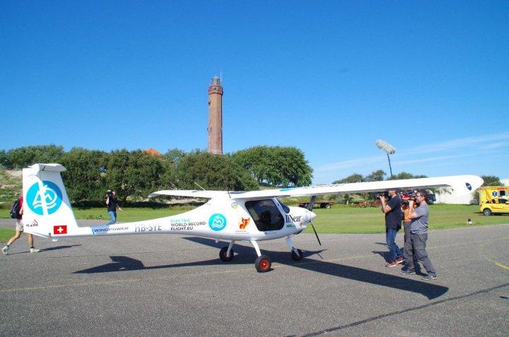 Elektro Weltrekordflug