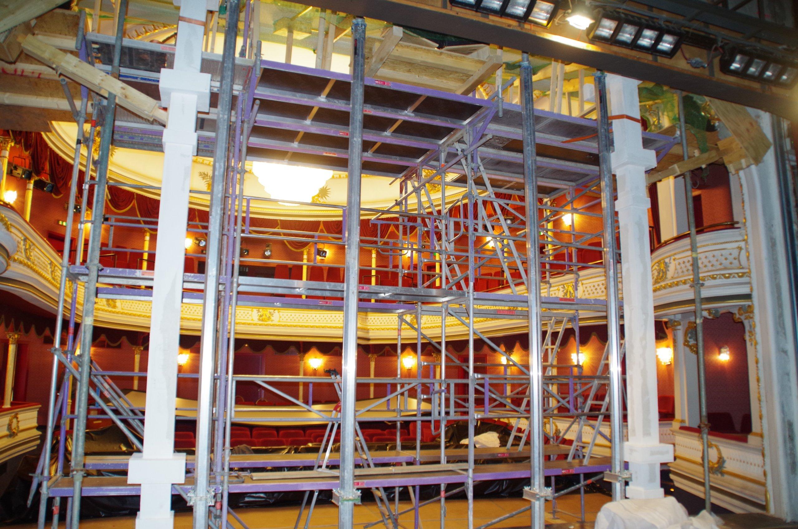 Sanierung des Kurtheaters