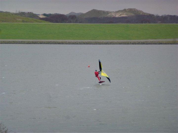 Nikolaus auf dem Surfbecken