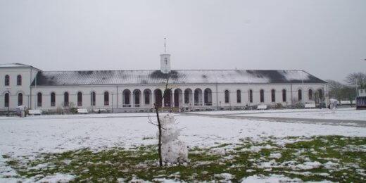Schneemann Kurplatz