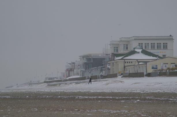 Schnee Weststrand