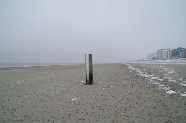 Schnee Strand