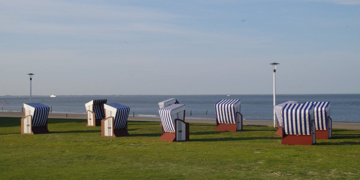 Strandkörbe am Weststrand