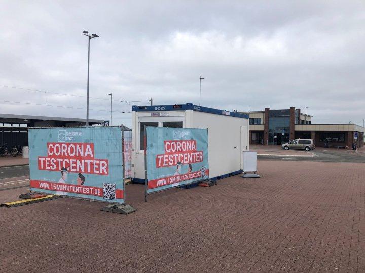 Corona-Testzentrum Norddeich