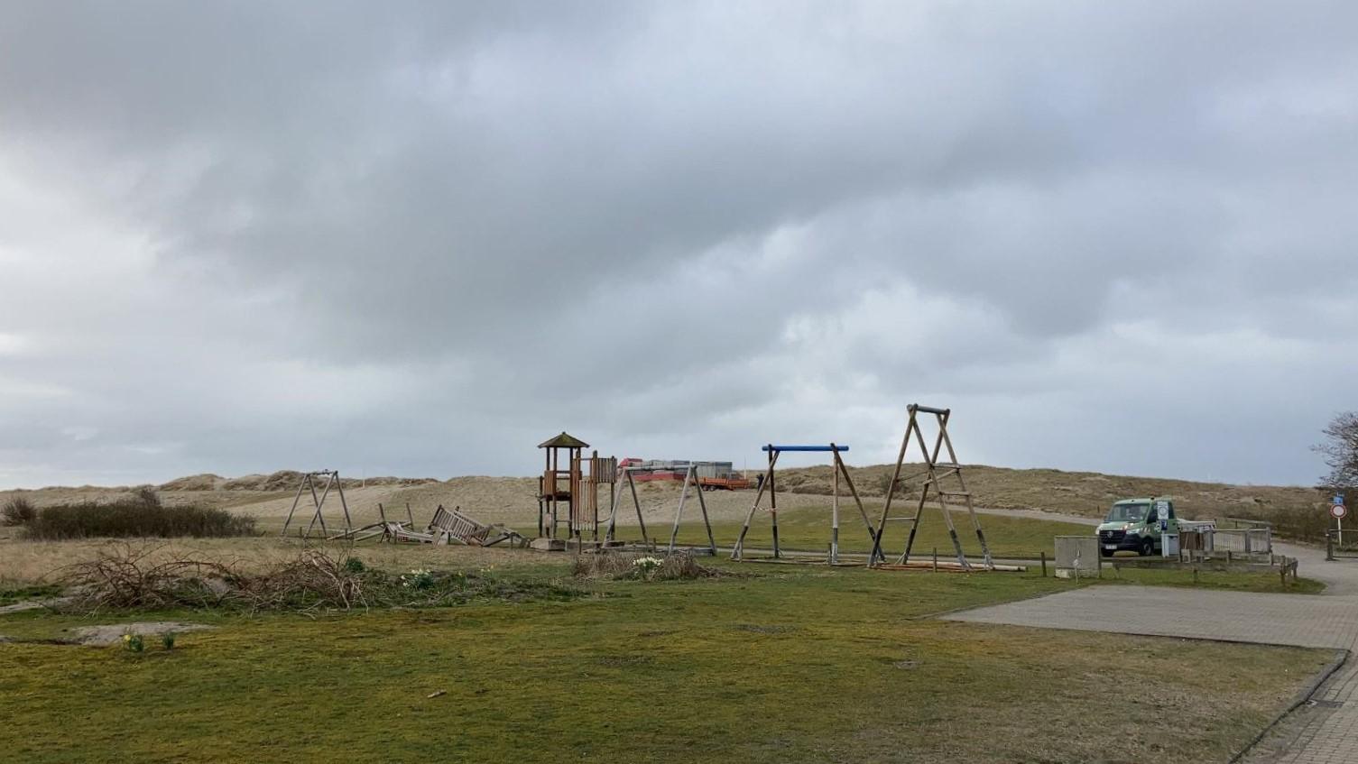 Spielplatz Weststrand
