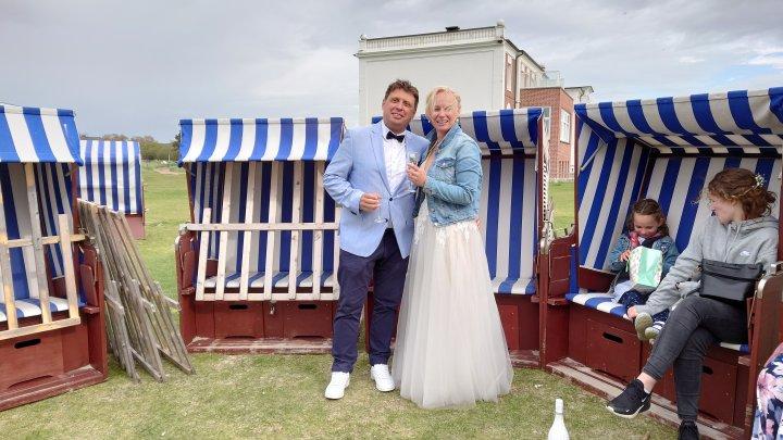 Hochzeit am Weststrand