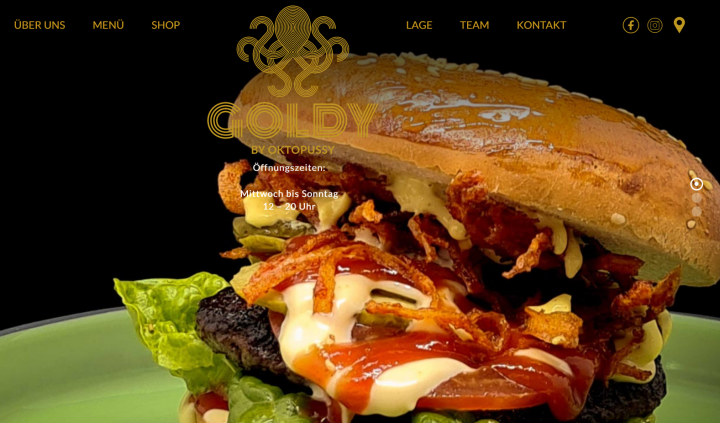 Goldy Homepage