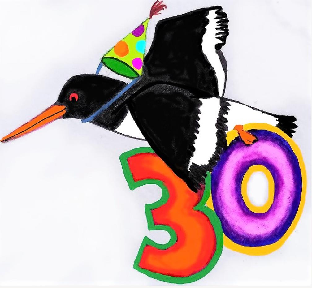 Logo 30 Jahre Nationalparkhaus